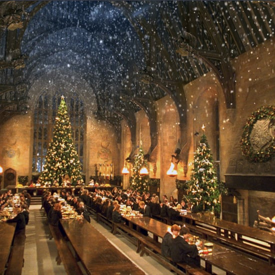 Christmas Dinner Inside Hogwarts Great Hall