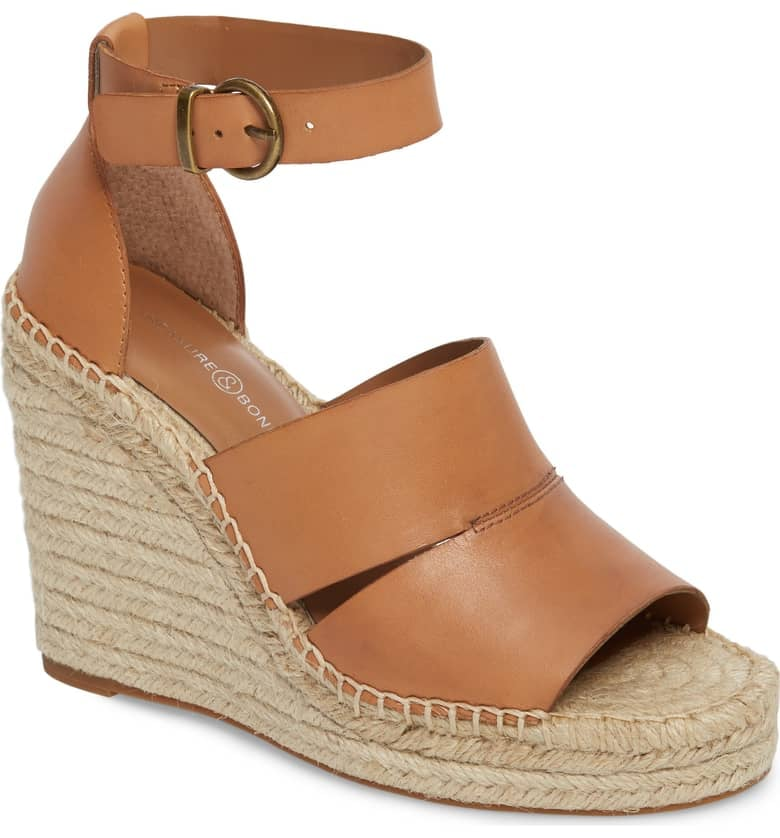 Treasure & Bond Sannibel Platform Wedge Sandals