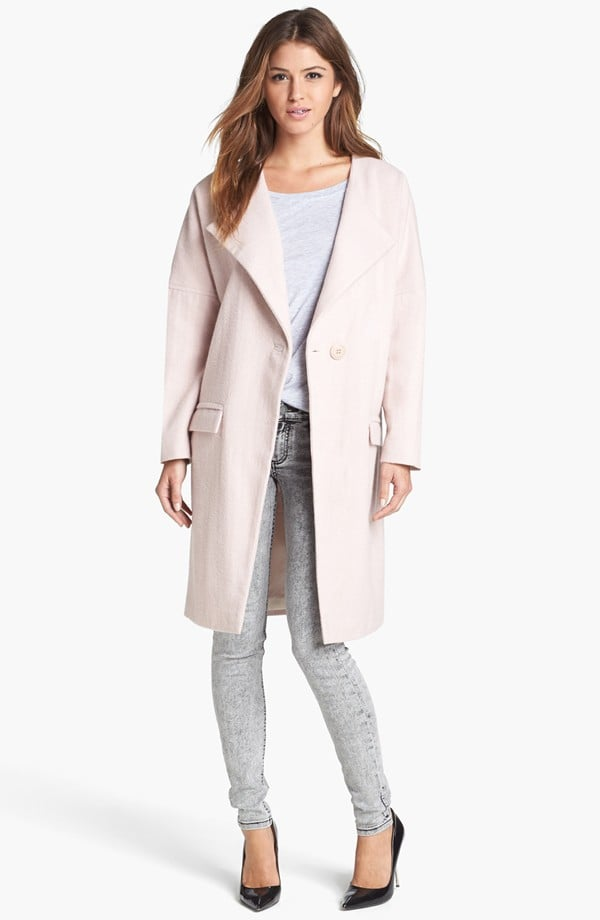 We adore the soft pink hue of this Tildon Lofty Wool Coat ($118) and the sweetness it will lend to all the gray in our closet.