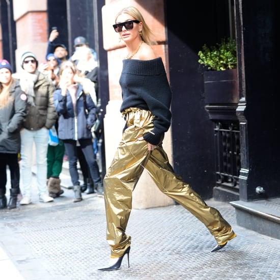 Hailey Baldwin's Sexy Shoes