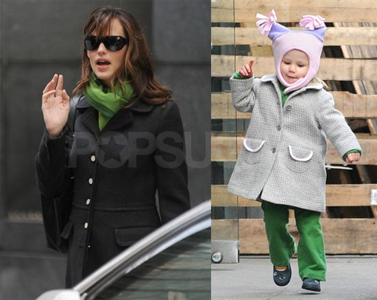 Jen and Violet Are Ready for Christmas Time in the City