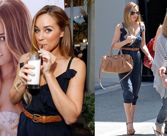Pictures of Lauren Conrad Launching Got Milk Ad in LA 2010-06-16 18:00:06
