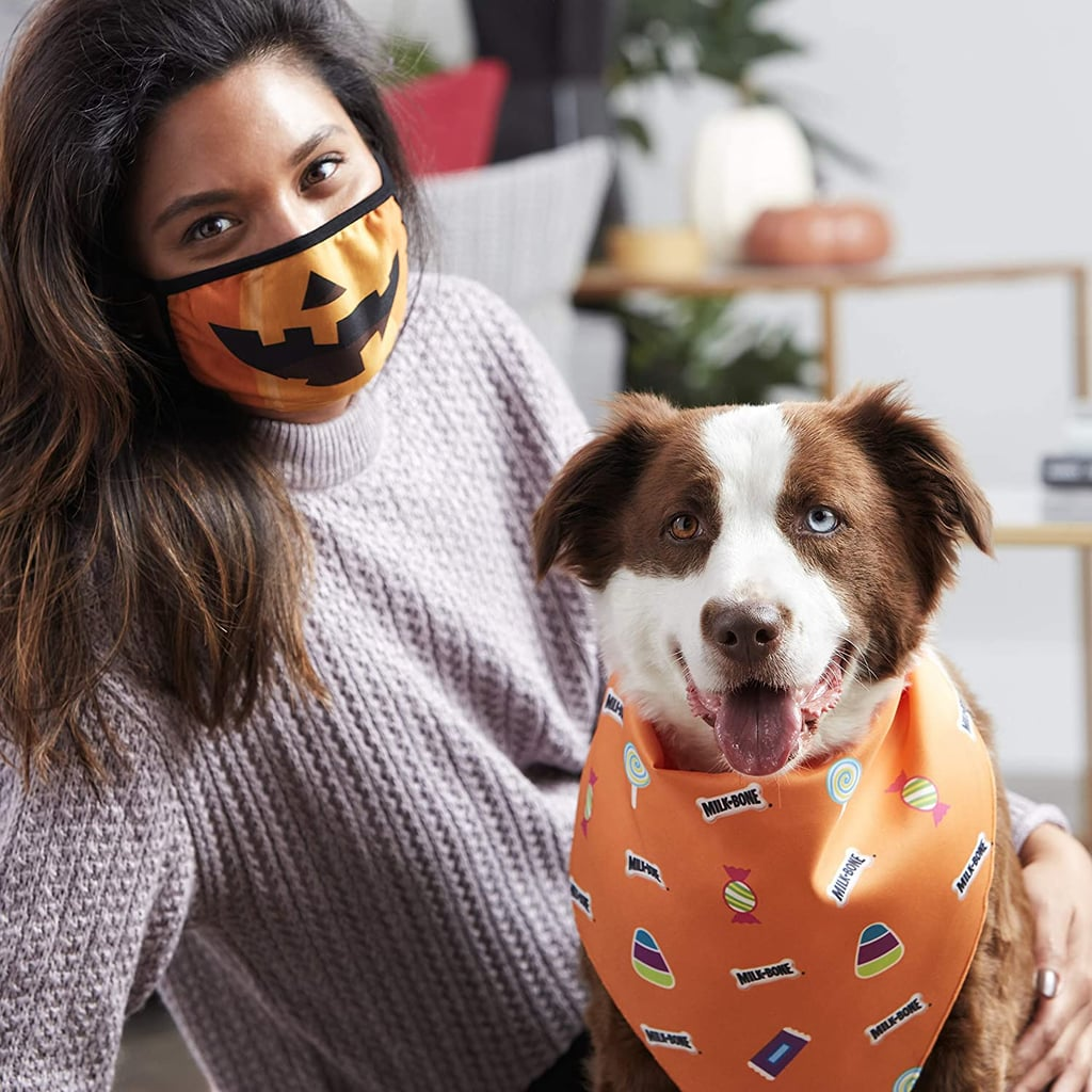 Milk-Bone Halloween Face Masks and Bandanas For Dogs