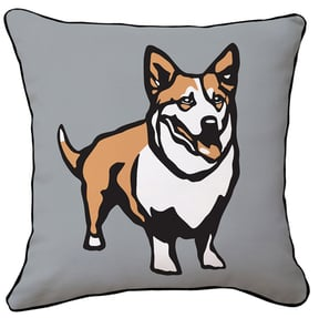 Corgi, the Queen's Dog Pillow ($35, originally $50)