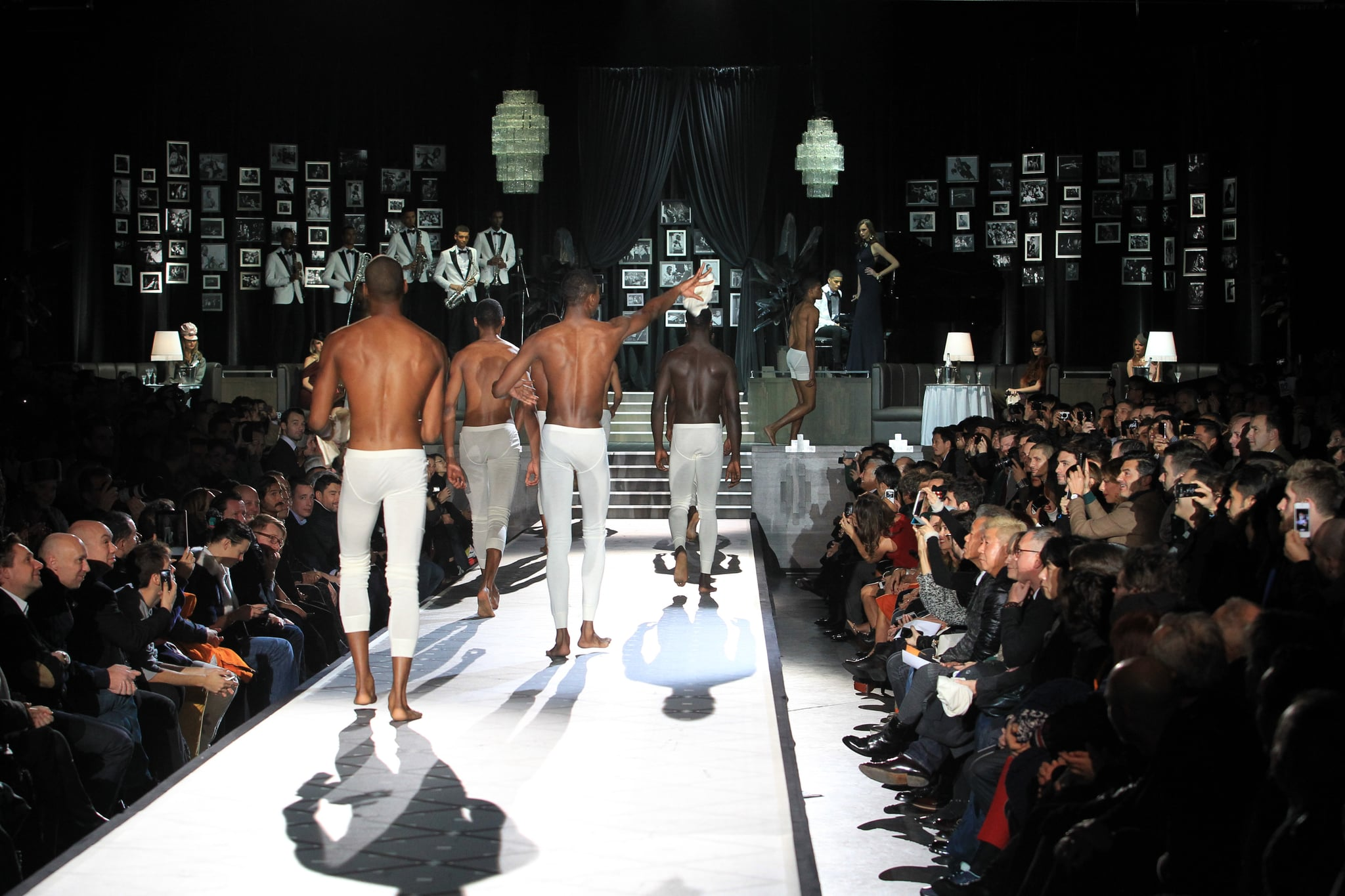 When DSquared2's Models Stripped on the Runway