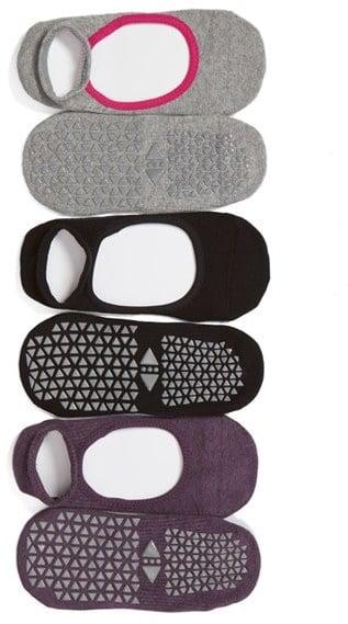 ToeSox Chey 3-Pack Gripper Socks