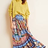 Jyoti Allaire High-Low Maxi Skirt
