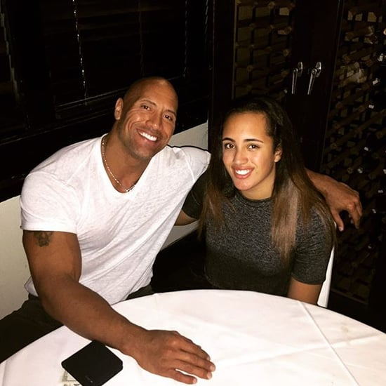 Dwayne Johnson's Instagram Photo With His Daughter Simone