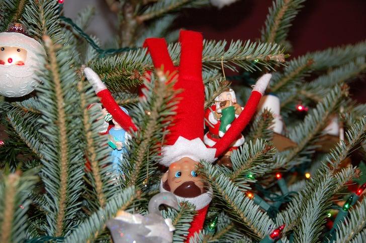 A Christmas Tree Classic Elf On The Shelf Ideas