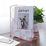 Large Desktop Magazine Holder Rack