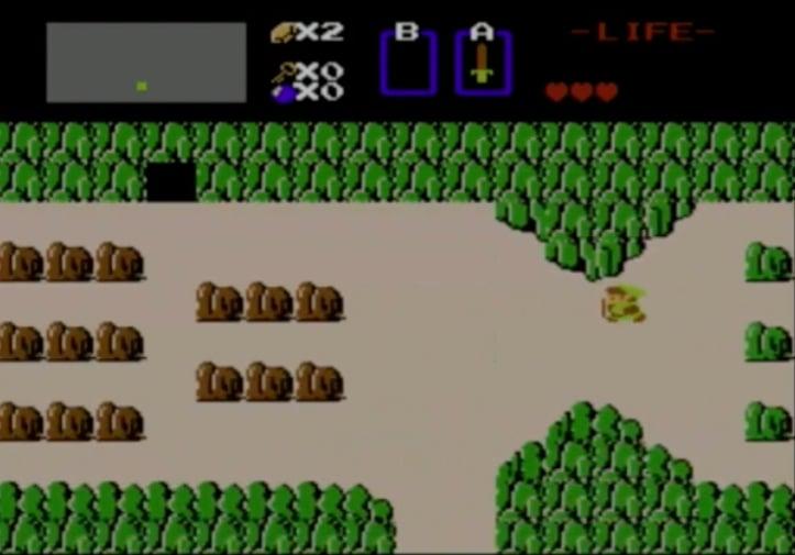 *Really* Old Zelda