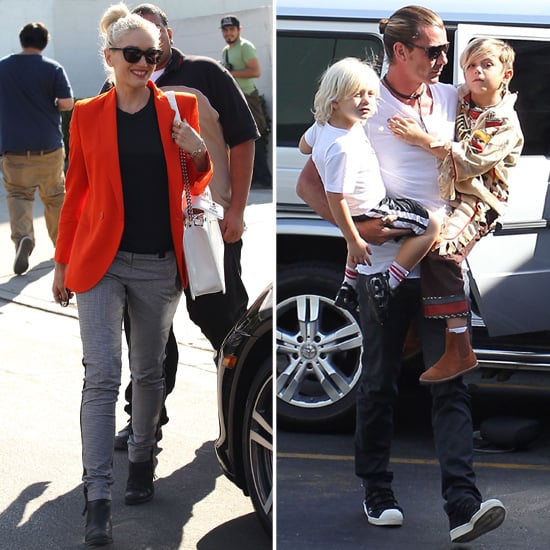 Gwen and Gavin Have a Busy LA Weekend With the Boys