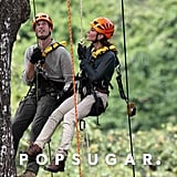 Over the weekend, Prince William and Kate scaled a 130-foot tree near Malaysia's Danum Valley research center.