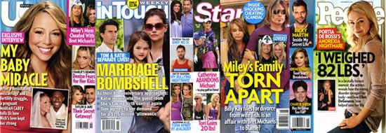 Celebrity Weekly Magazine Covers