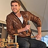 Liam Hemsworth took the stage.