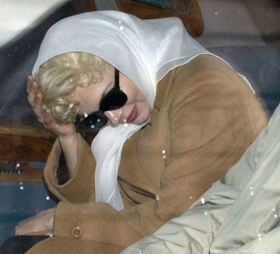 Pictures of Michelle Williams on the Set of My Week With Marilyn in London