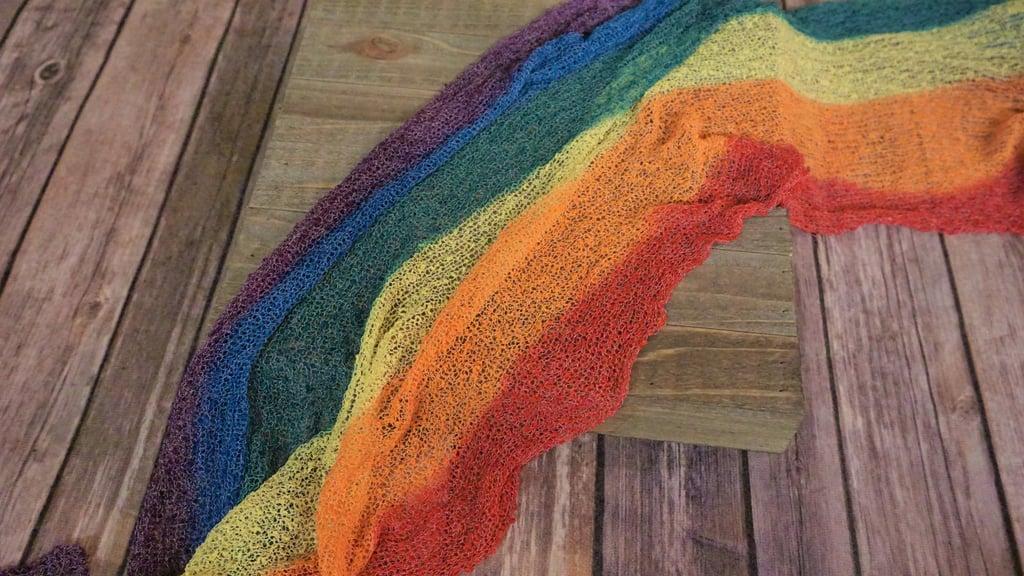 Rainbow Baby Wrap