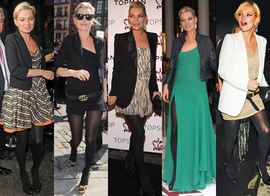 Which of Kate Moss' New York Looks Do You Prefer?