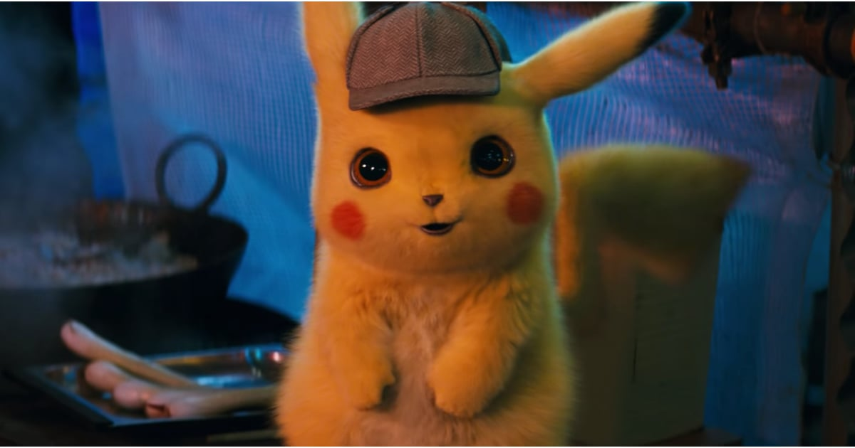 detective pikachu pokemon movie trailer