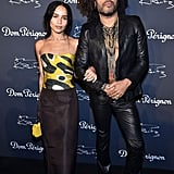 Zoë definitely gets her cool cred from her dad Lenny Kravitz — just check out their amazing outfits!
