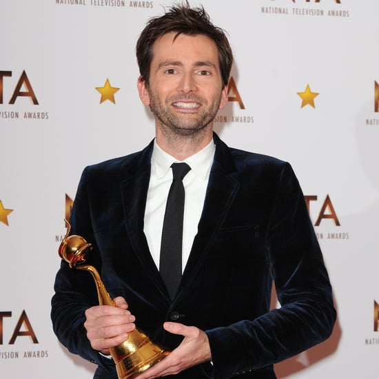 David Tennant's National TV Awards Surprise Reaction