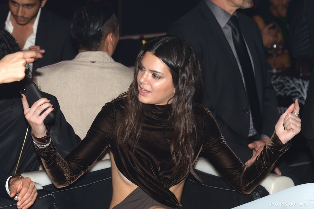 Kendall hit up a star-studded bash on Thursday night.