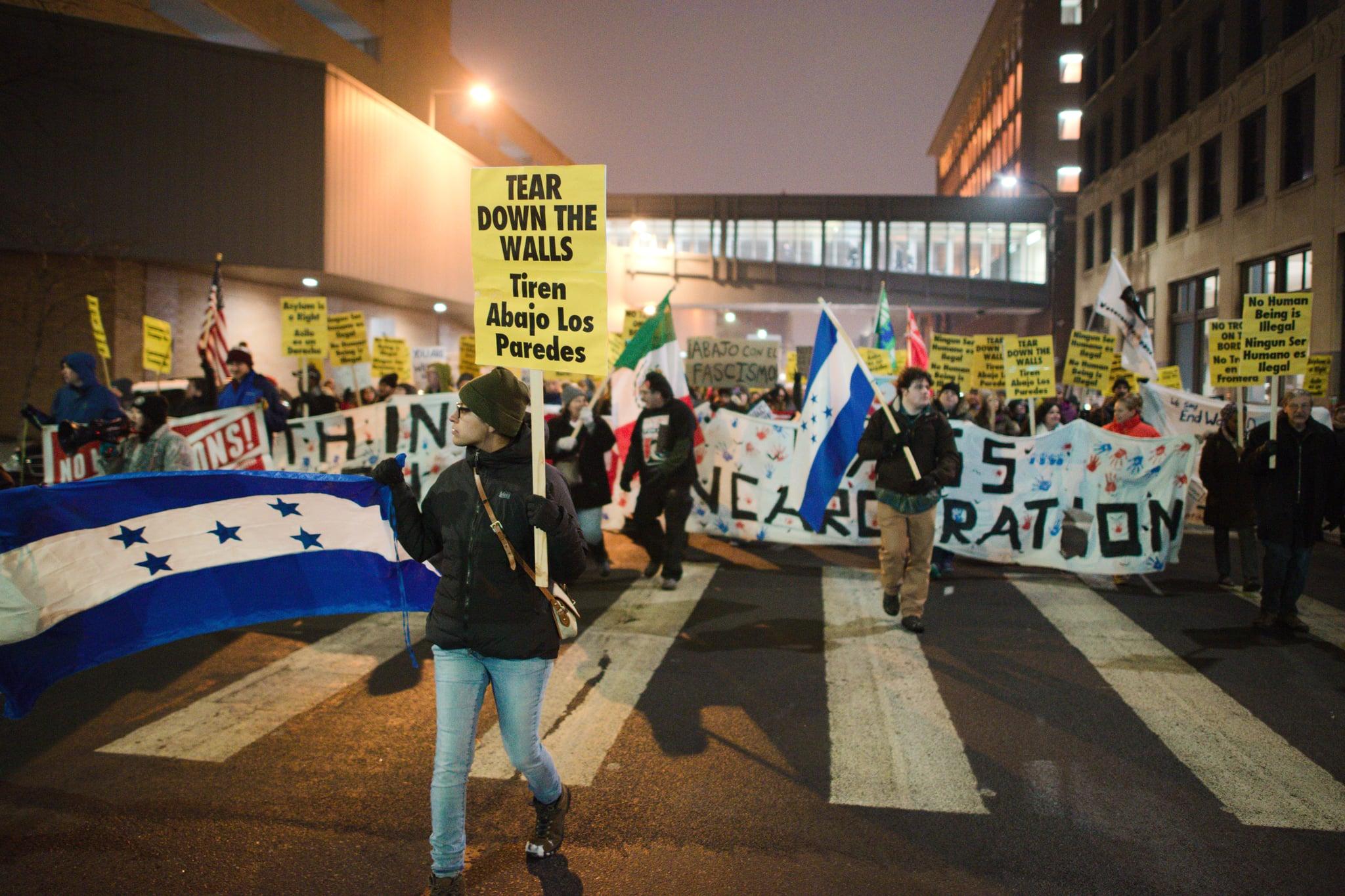 Honduran March, November 30, 2018, Minneapolis, Minnesota