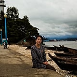 In Wonsan, a Port City to the Sea of Japan