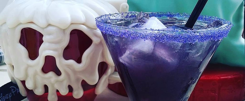 This Goth Halloween Cocktail at Disneyland Comes With an Eyeball Inside