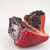 Oreo-Truffle-Stuffed Strawberries