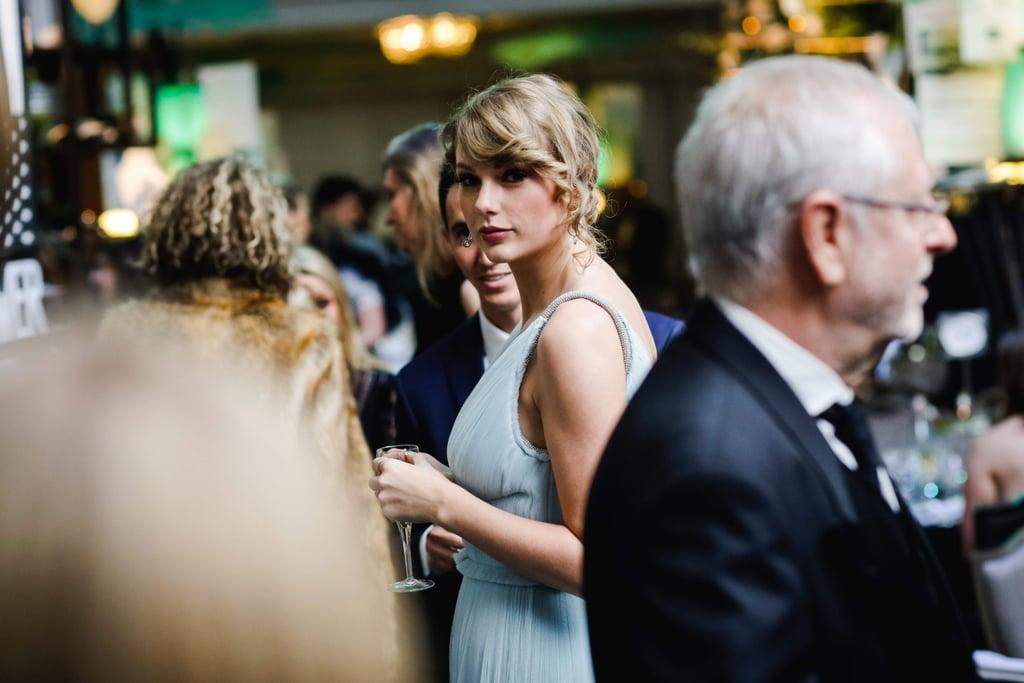 BAFTA Awards 2019: Taylor Swift Stella McCartney Dress At The BAFTA Awards