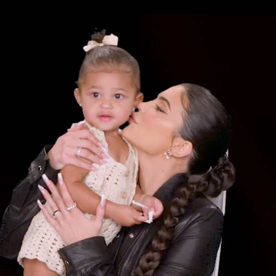 Video of Stormi Webster on Ellen With Kylie Jenner
