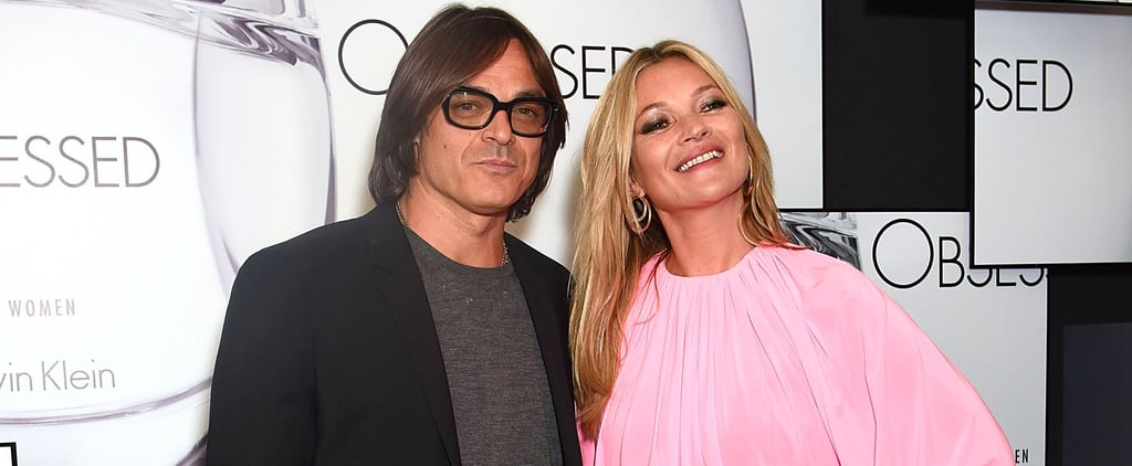 Kate Moss Is Pretty in Pink as She Cuddles Up to Her Ex