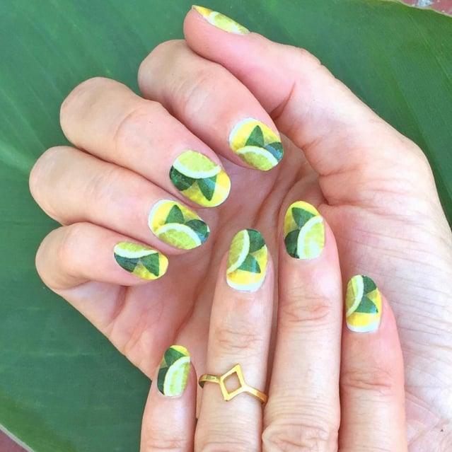 Lemon Nail Art Ideas
