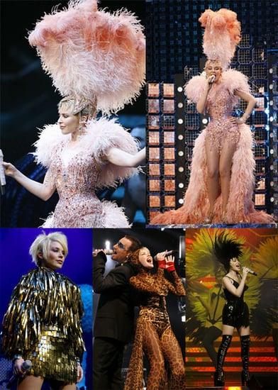 Kylie Kicks off Showgirl Tour