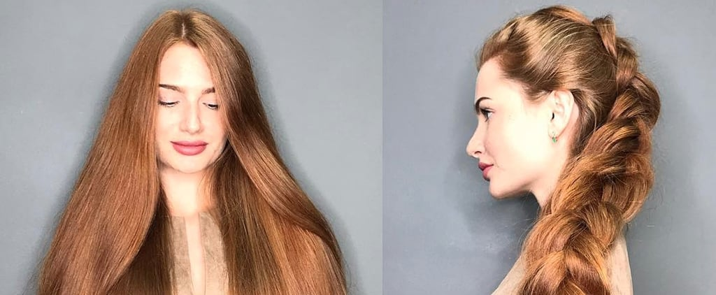 You Won't Believe That Anastasia Had Alopecia When You See How Long Her Hair Is Now