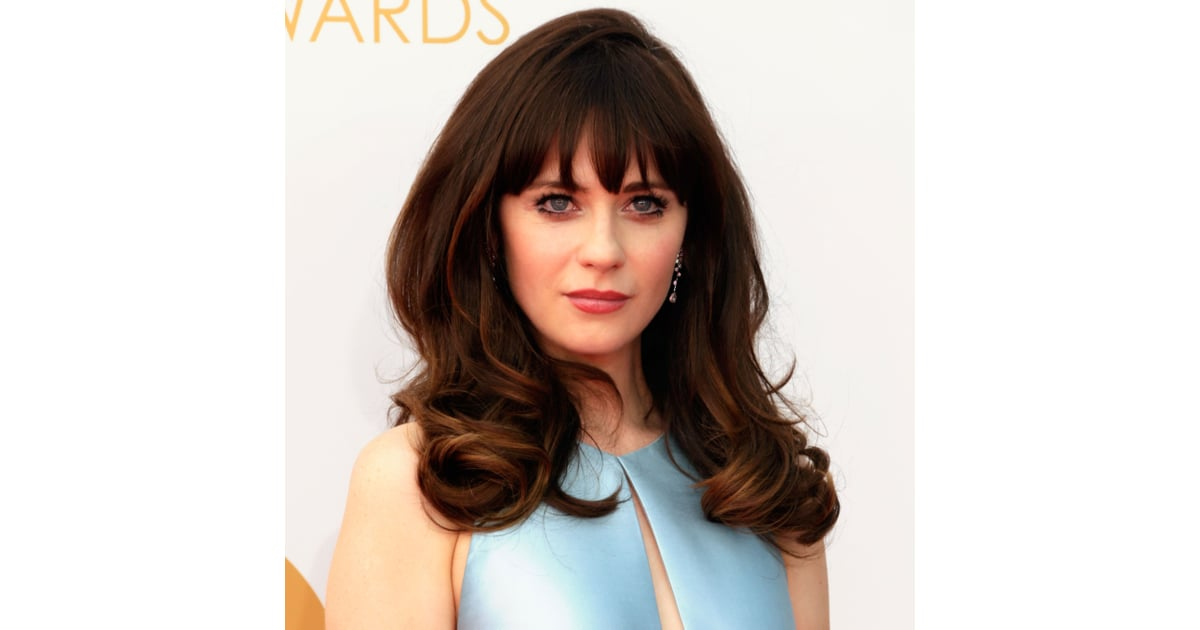 zooey deschanel at the emmy awards 2013 pictures