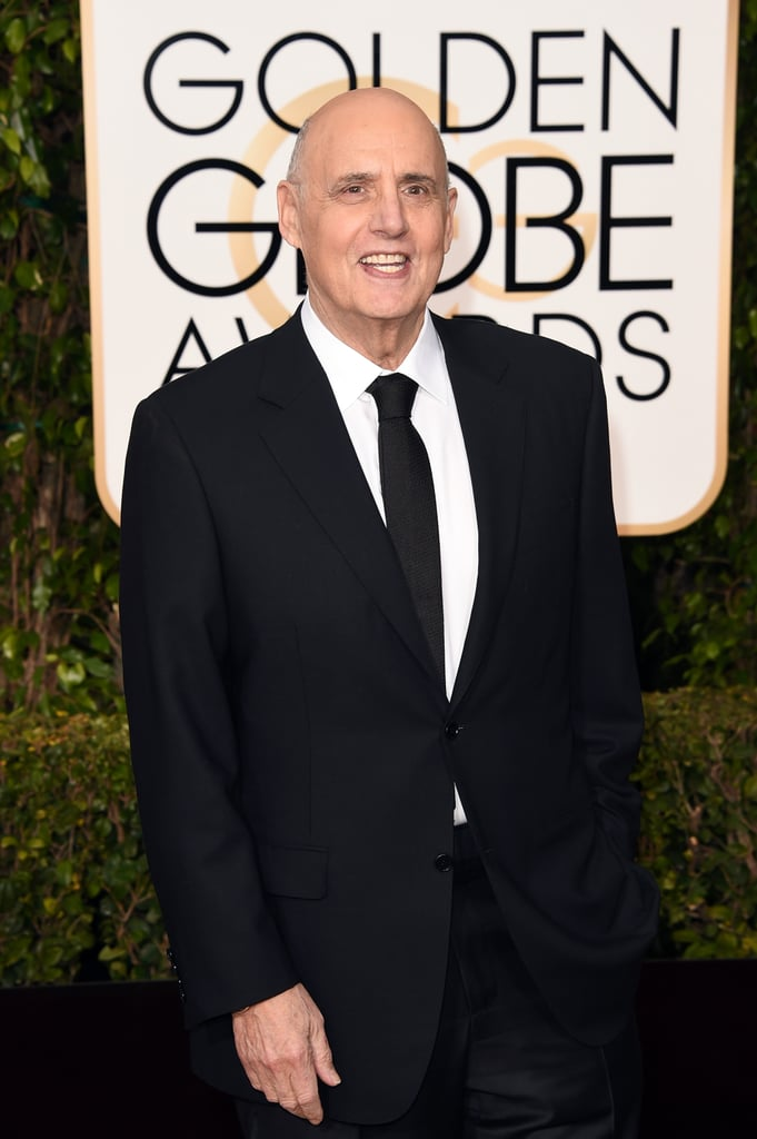 """""""I love Jeffrey Tambor. I don't know if it's because he's a great actor or because he reminds me of my Nan."""" — Poking fun at Tambor's role on Transparent."""