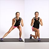 Side Lunge to Curtsy Squat