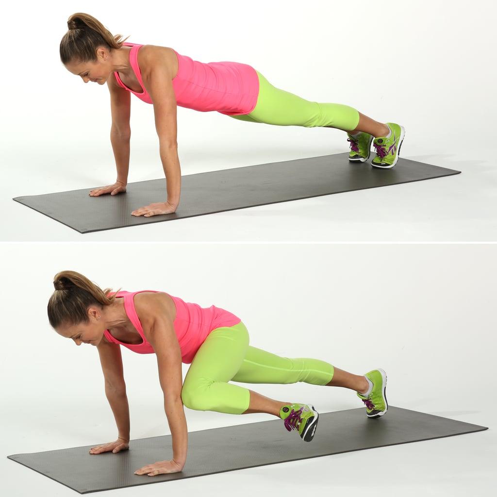 Plank With Creepy Crawler