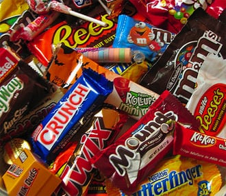 Calories in Halloween Candy