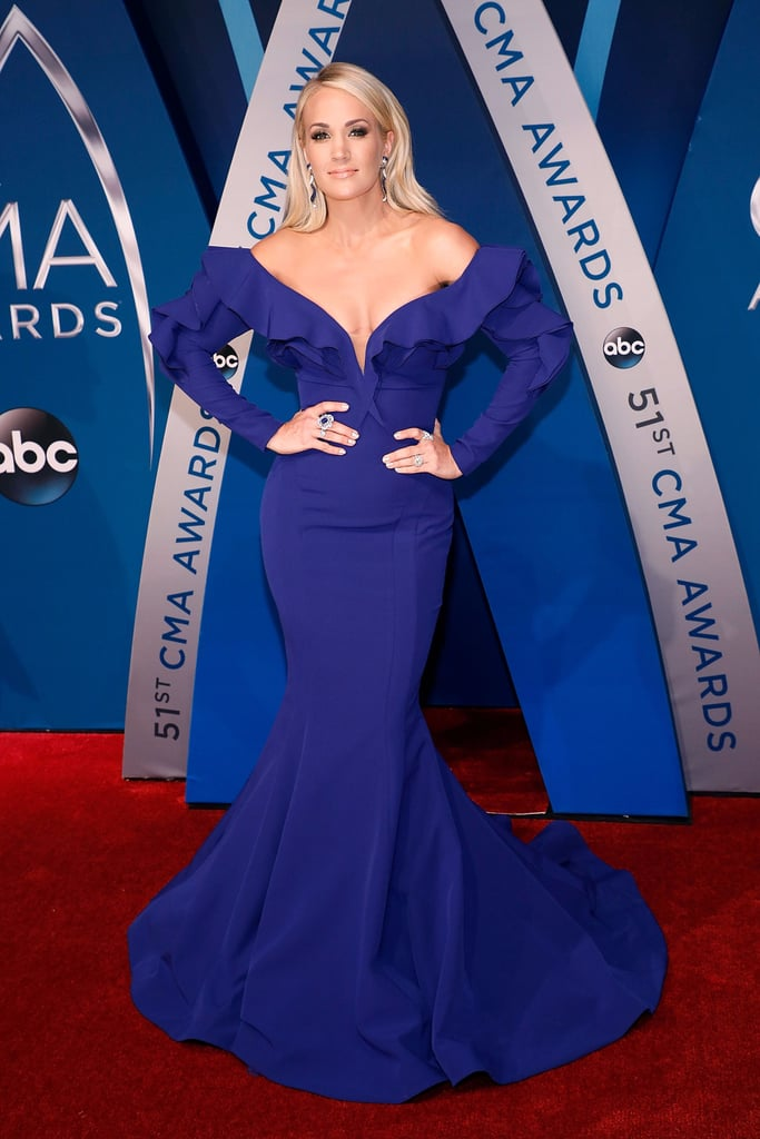 It's Impossible to Count All of Carrie Underwood's Dresses at the CMAs on 1 Hand