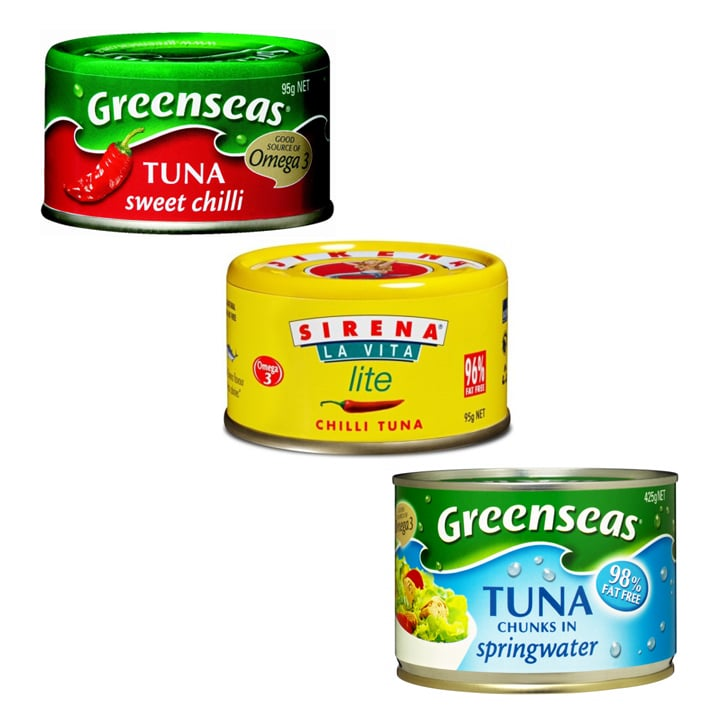 Calories In John West Greenseas Sirena Tuna Cans Popsugar Fitness