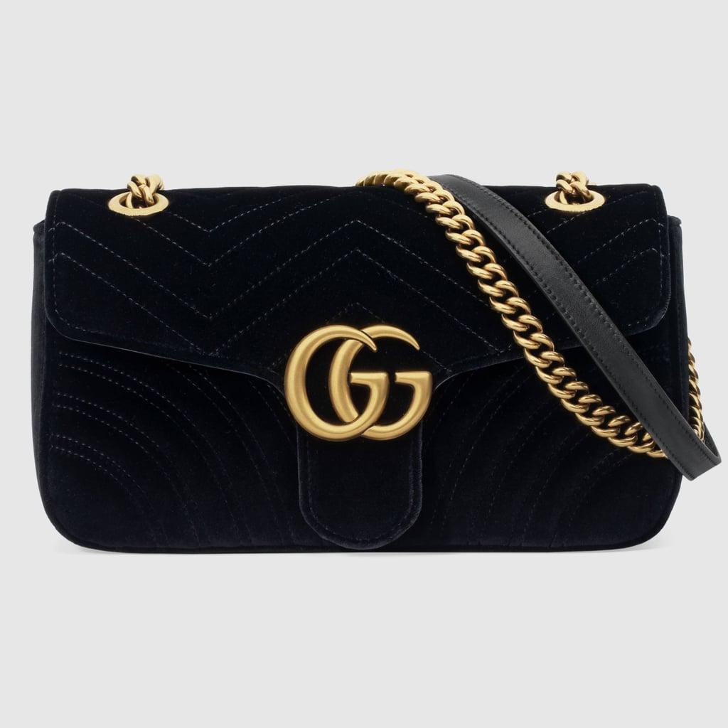 aacd92e8be92 Shop It: Gucci GG Marmont Velvet Shoulder Bag   Kourtney Kardashian ...