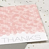 Sequins Thank You Card