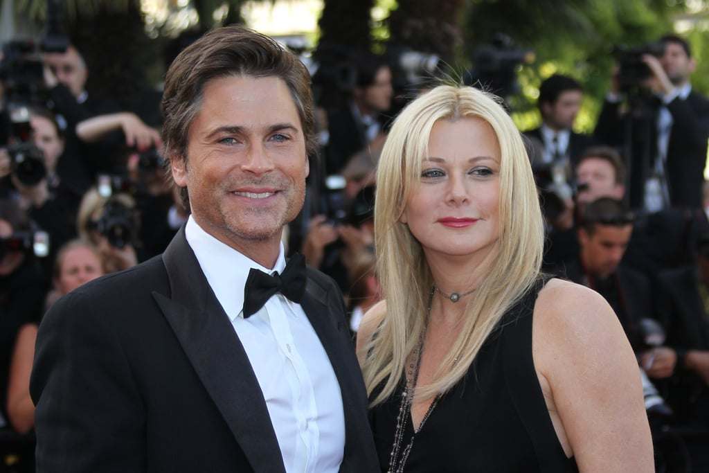 Rob Lowe and Sheryl Berkoff in 2011