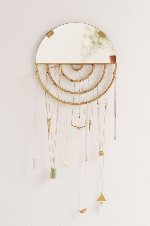 Aimee Jewelry Storage Hanging Mirror