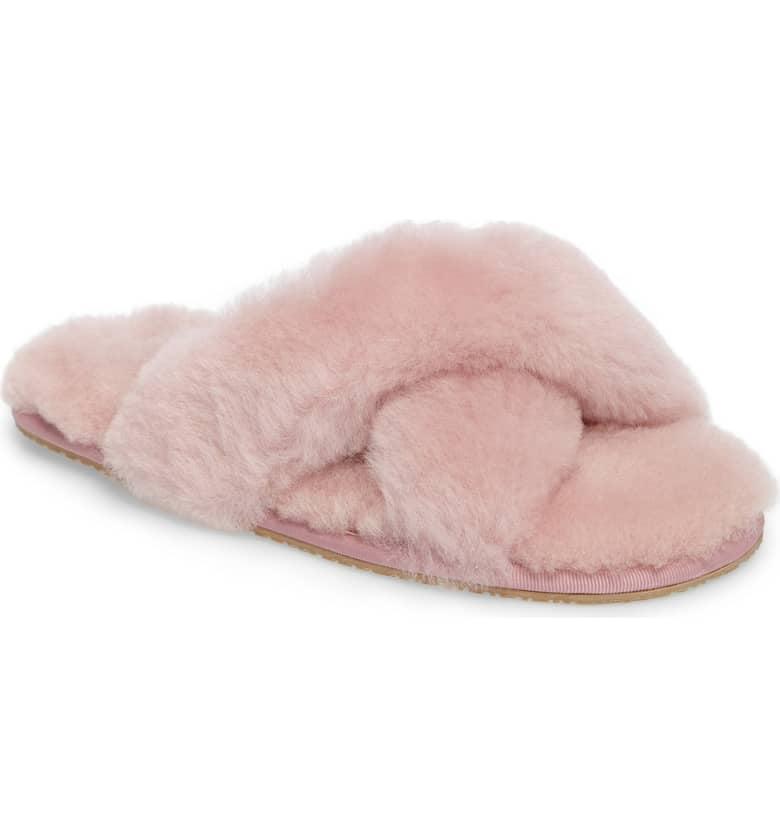 bb814289fde Patricia Green Mt. Hood Genuine Shearling Slippers