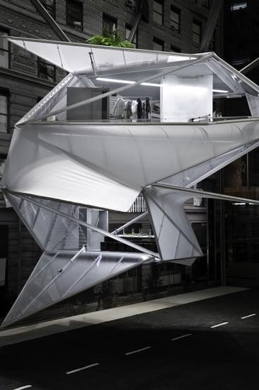Calvin Klein Flagship Reveals Futuristic Holiday Windows