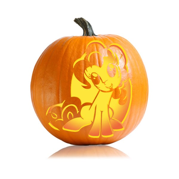 my little pony cartoon character pumpkin carving ideas